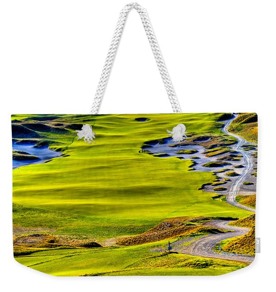 #5 At Chambers Bay Golf Course - Location Of The 2015 U.s. Open Tournament Weekender Tote Bag