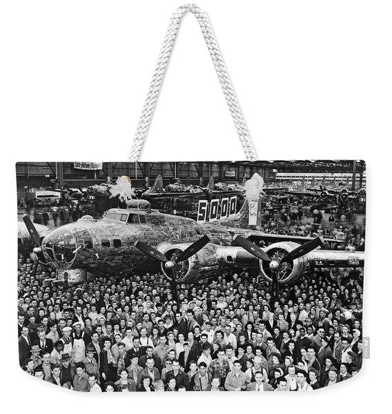5,000th Boeing B-17 Built Weekender Tote Bag
