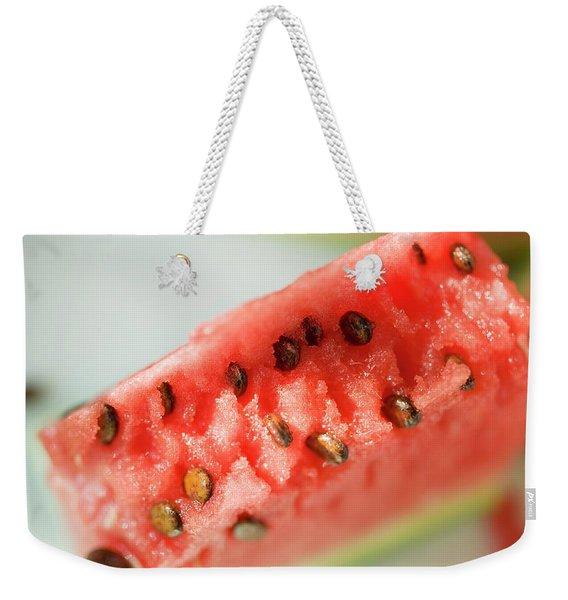 A Piece Of Watermelon Weekender Tote Bag
