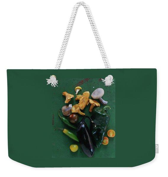 A Pile Of Vegetables Weekender Tote Bag