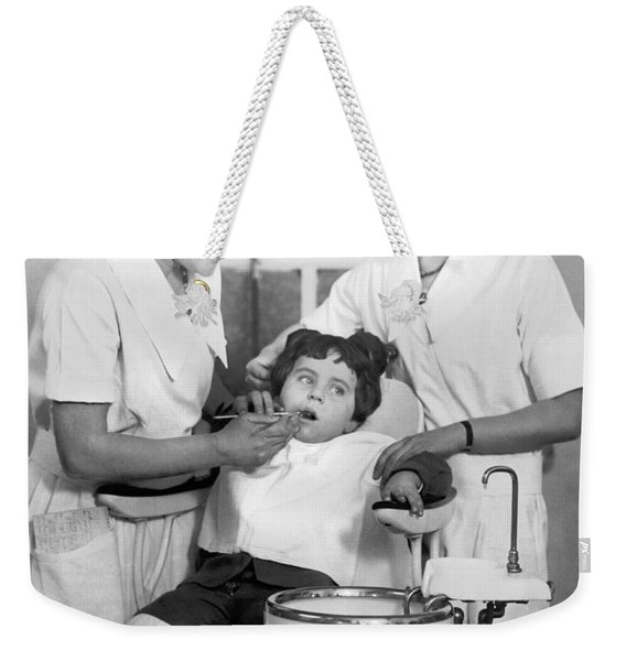 A Reluctant Patient Weekender Tote Bag