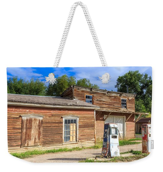 Abandoned Mining Buildings Weekender Tote Bag