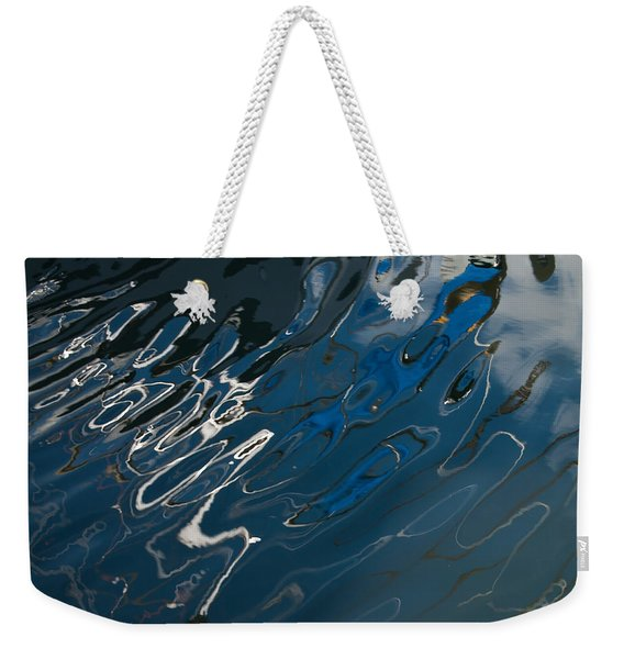 Abstract Reflection Weekender Tote Bag