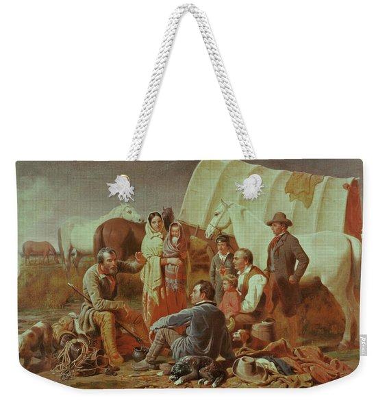 Advice On The Prairie  Weekender Tote Bag