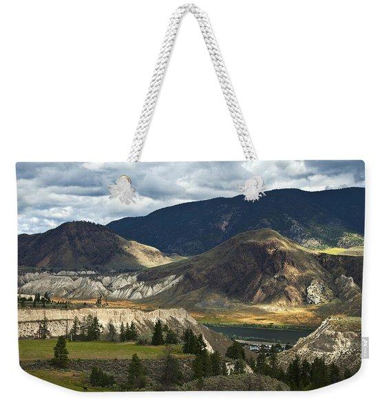 Along The River  Weekender Tote Bag