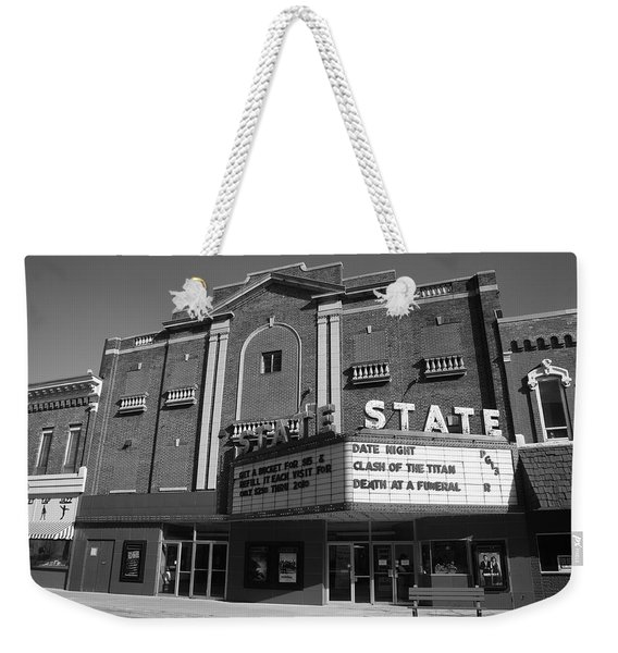 Alpena Michigan - State Theater Weekender Tote Bag