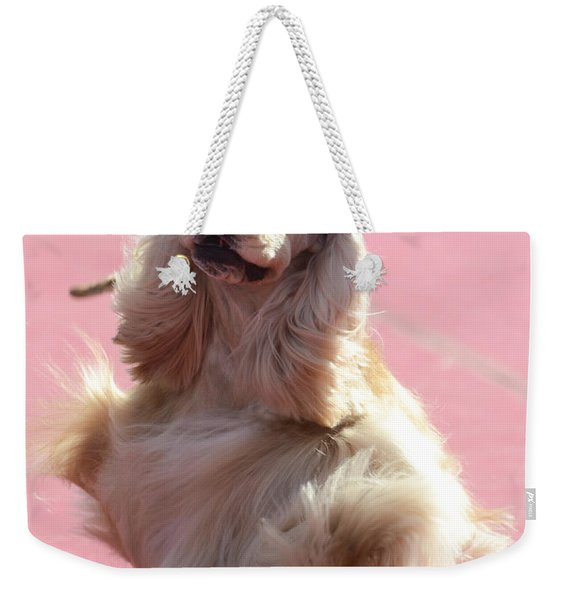 American Cocker Spaniel Weekender Tote Bag