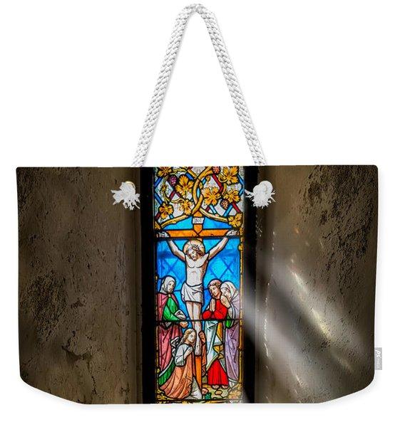 Ancient Glass Weekender Tote Bag