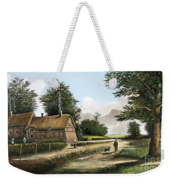 Anne Hathaway's Cottage Weekender Tote Bag