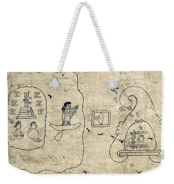 Aztec Migration Weekender Tote Bag