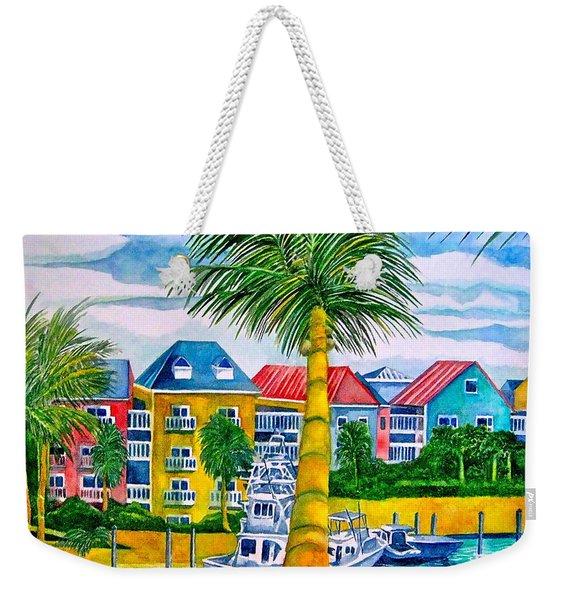 Bahamian Blues Weekender Tote Bag