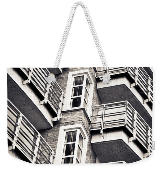 Balconies Weekender Tote Bag