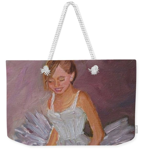 Ballerina 2 Weekender Tote Bag