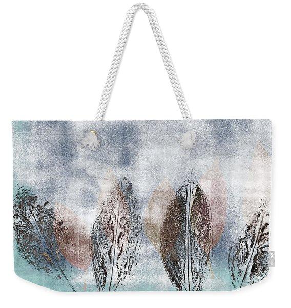 Beginning Of Winter Weekender Tote Bag