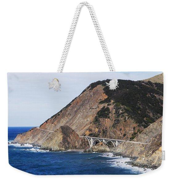 Big Creek Bridge From California Route Weekender Tote Bag