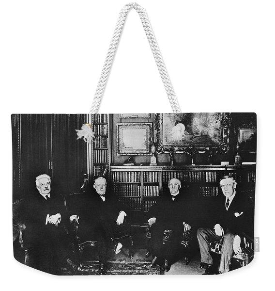 Big Four At Versailles Weekender Tote Bag