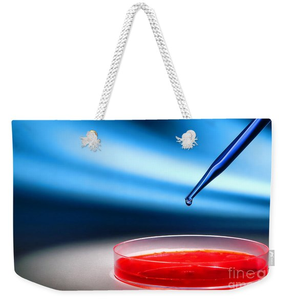 Biotechnology Experiment In Science Research Lab Weekender Tote Bag