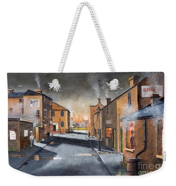 Black Country Village From The Boat Yard Weekender Tote Bag