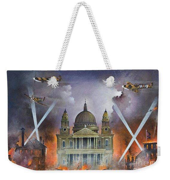 Spirit Of The Blitz Weekender Tote Bag