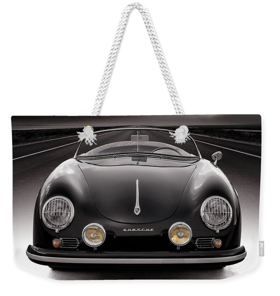 Black Porsche Speedster Weekender Tote Bag