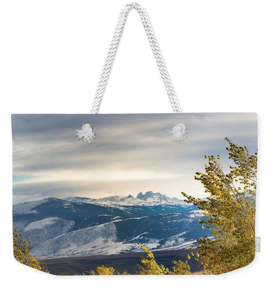 Blacktooth Weekender Tote Bag