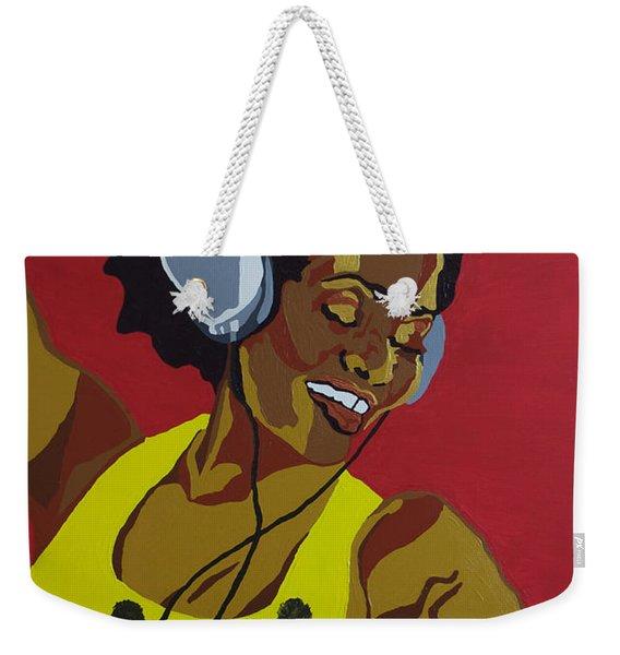 Blame It On The Boogie Weekender Tote Bag