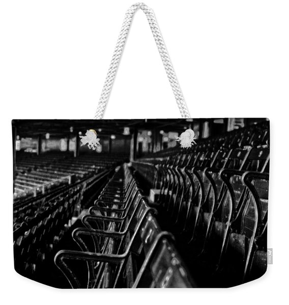 Bostons Fenway Park Baseball Vintage Seats Weekender Tote Bag