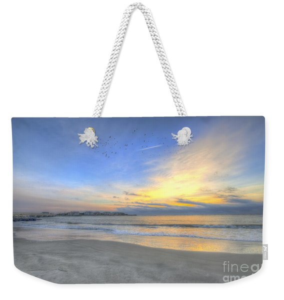 Breach Inlet Sunrise Weekender Tote Bag