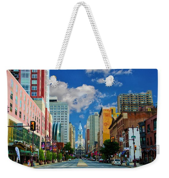 Broad Street - Avenue Of The Arts Weekender Tote Bag