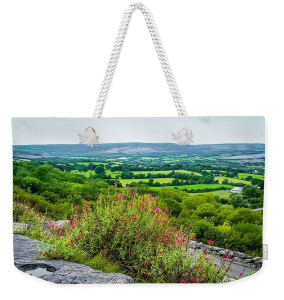 Burren National Park's Lovely Vistas Weekender Tote Bag