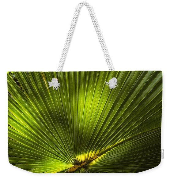 Cabbage Palm Weekender Tote Bag