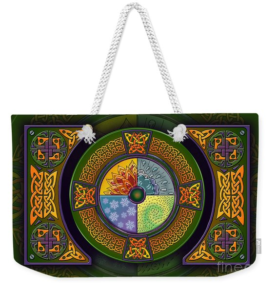 Celtic Elements Weekender Tote Bag