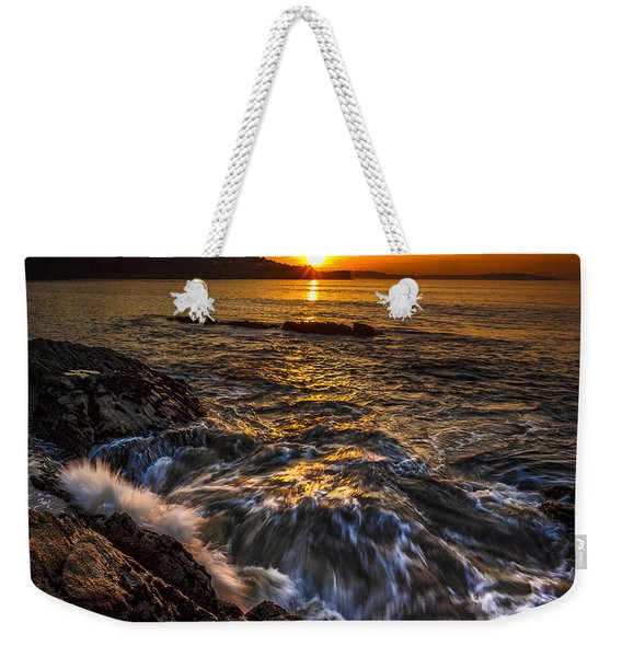Chamoso Point In Ares Estuary Galicia Spain Weekender Tote Bag