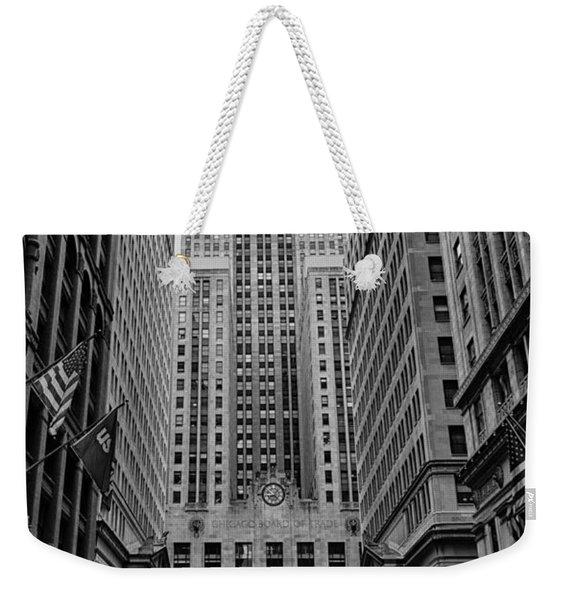Chicago Board Of Trade Weekender Tote Bag