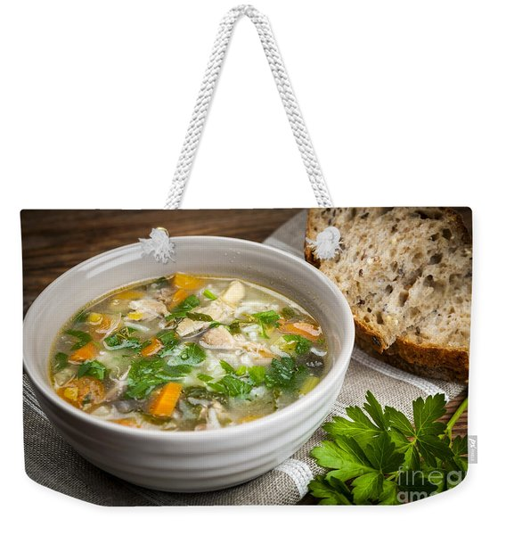 Chicken Soup  Weekender Tote Bag