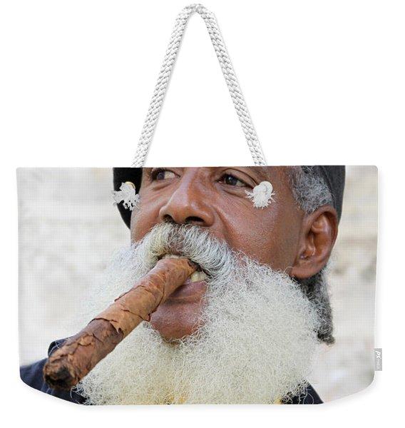 Cigar Man Weekender Tote Bag