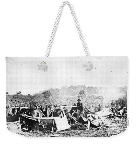 Civil War: Wounded, 1862 Weekender Tote Bag