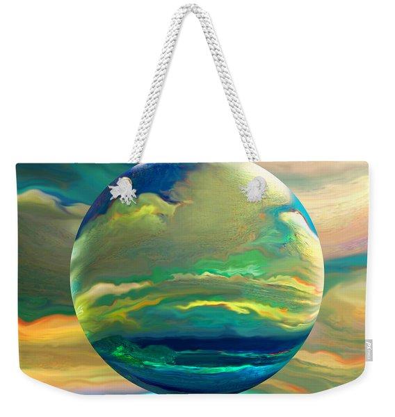 Clouding The Poets Eye Weekender Tote Bag