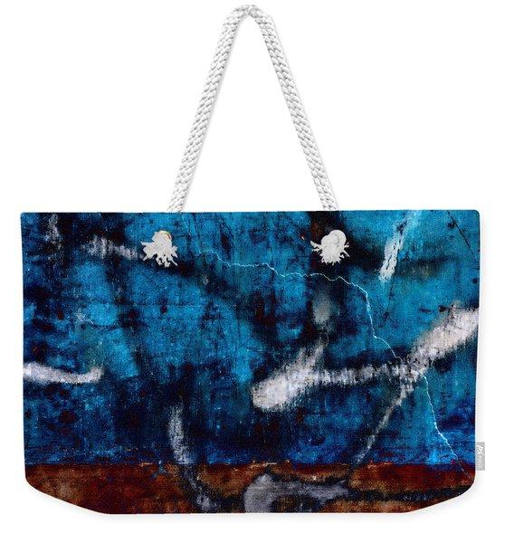 Colorful Walls Number 2 Weekender Tote Bag