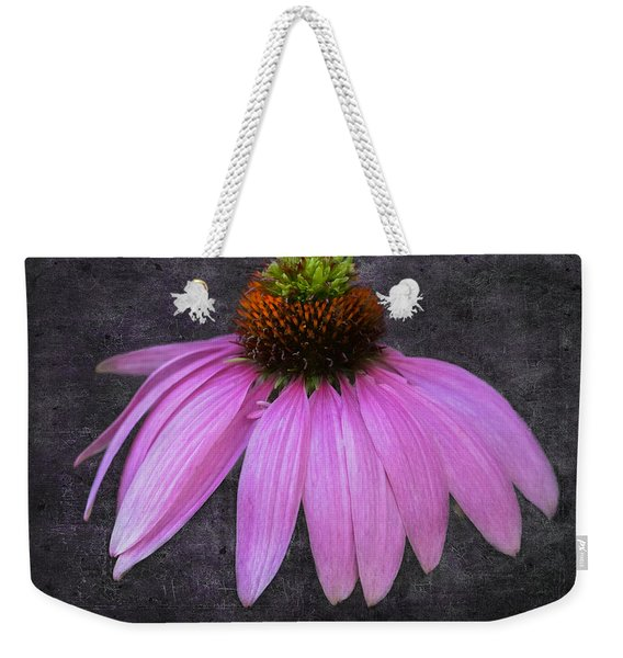 Weekender Tote Bag featuring the photograph Cone Flower by Garvin Hunter