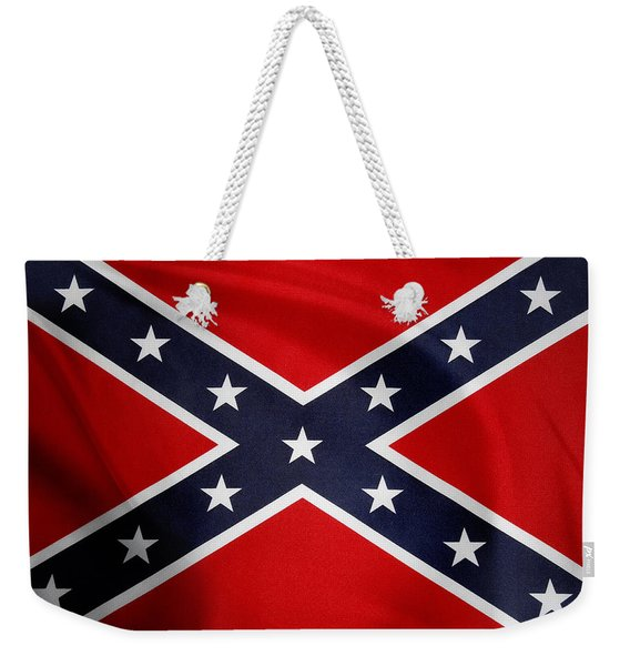 Confederate Flag 5 Weekender Tote Bag