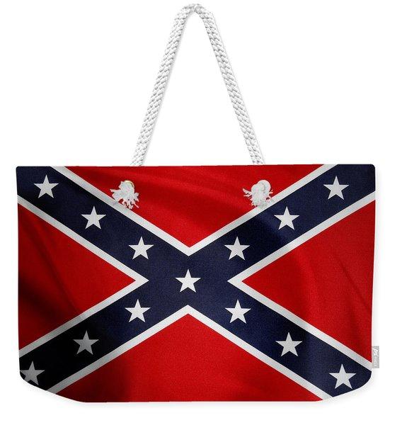 Confederate Flag 5 Weekender Tote Bag