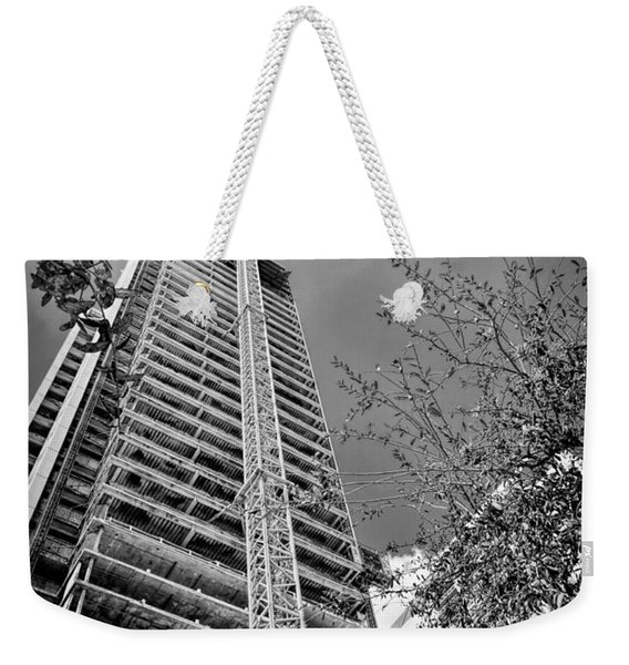 Construction Site Weekender Tote Bag
