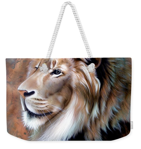 Copper King - Lion Weekender Tote Bag