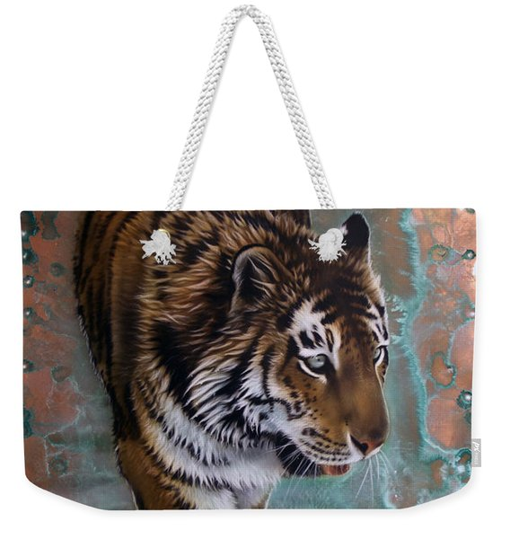 Copper Tiger I  Weekender Tote Bag