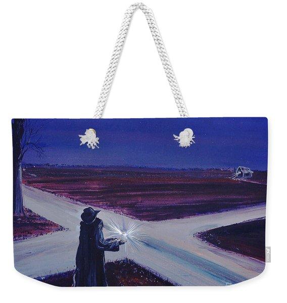 Crossroads Weekender Tote Bag