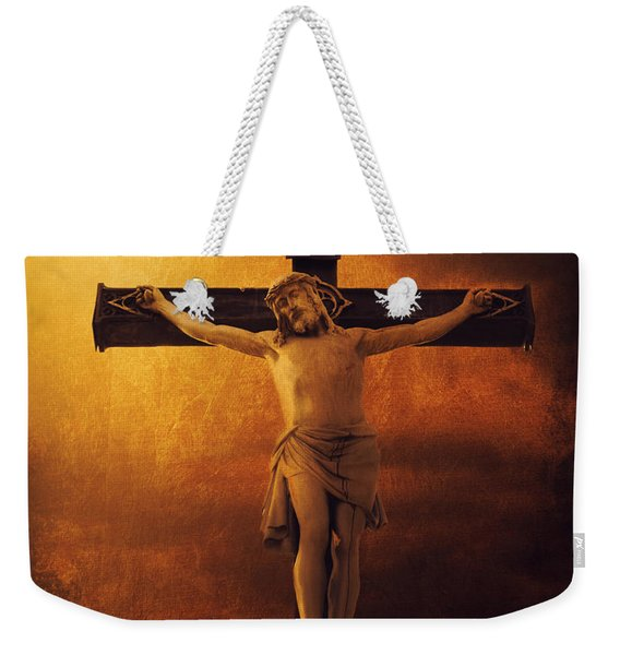 Crucifixcion Weekender Tote Bag