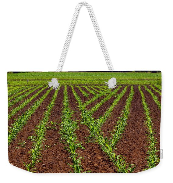 Cultivated Land Weekender Tote Bag