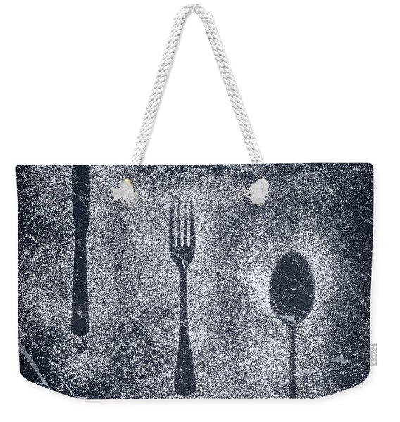Cutlery Weekender Tote Bag