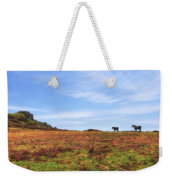 Dartmoor Weekender Tote Bag